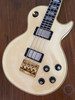 "Greco Les Paul Bass, White, MIJ, Late 1980s, 30"" Short Scale"