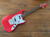 Fender Mustang, '69, Matching Headstock, Candy Apple Red, 2010