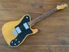 Fender Telecaster Custom (Deluxe Mod), '72, Natural Ash, 1997, Hard Case