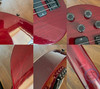 Gibson Les Paul Bass, Cherry, USA 1990, Active, Hard Case
