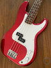 Fender Precision Bass, 2008, Candy Apple Red / White Guard