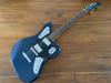 Fender Jaguar, Gun Metal Blue, HH Humbuckers, 2011, RARE to Find