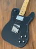 Fender Telecaster Custom, '72, Black on Black, 2002, Ash Body