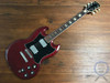 Greco SG, Cherry Red, 1975 Vintage Guitar