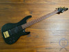 Aria Pro II Bass, Medium Scale, Active, Magna Series, Black, 1990s