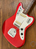 Fender Jaguar, '66 Matching Headstock, Candy Apple Red, 1997