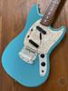 Fender Mustang, '66, California Blue, 1997, Slab Body