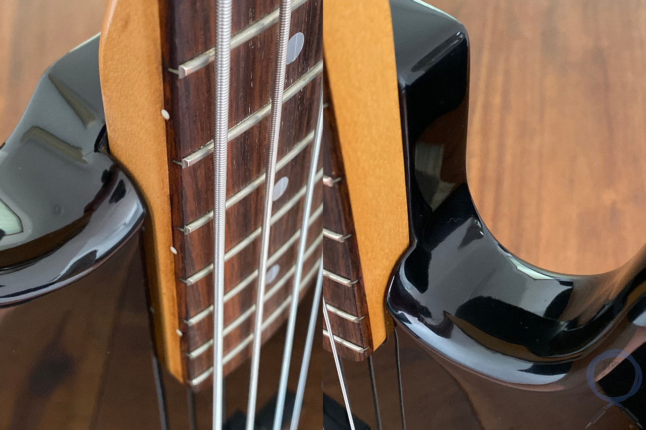 Fender Jazz Bass, Special, P/J Pickups, Black, 1986