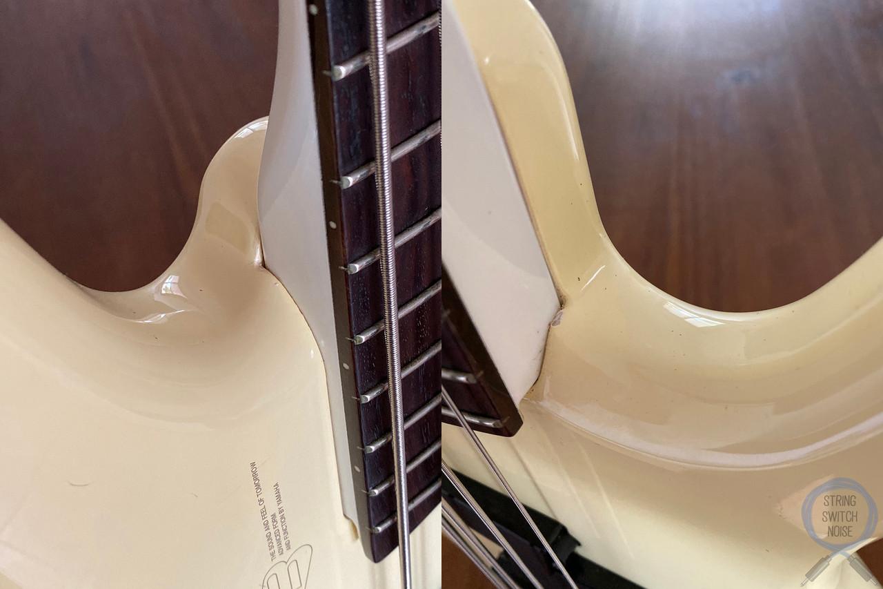 Yamaha MB IIIR, Motion B Bass,  White, 1989, Rare Model