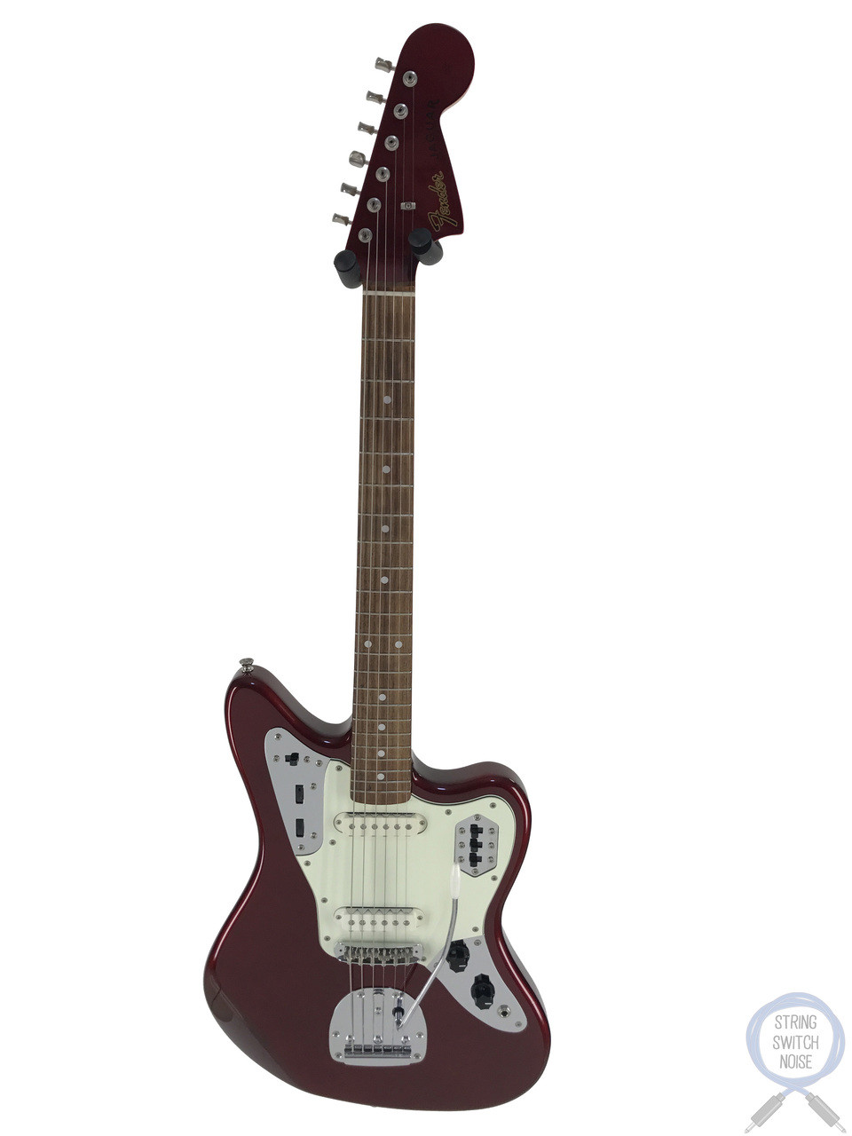Fender Jaguar, '66 Matching Headstock, Old Candy Apple Red, 2013