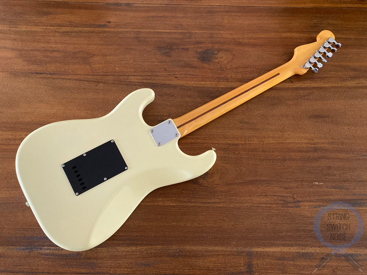 Fender Stratocaster, BOXER, HSS, White, 1984, Excellent Condition
