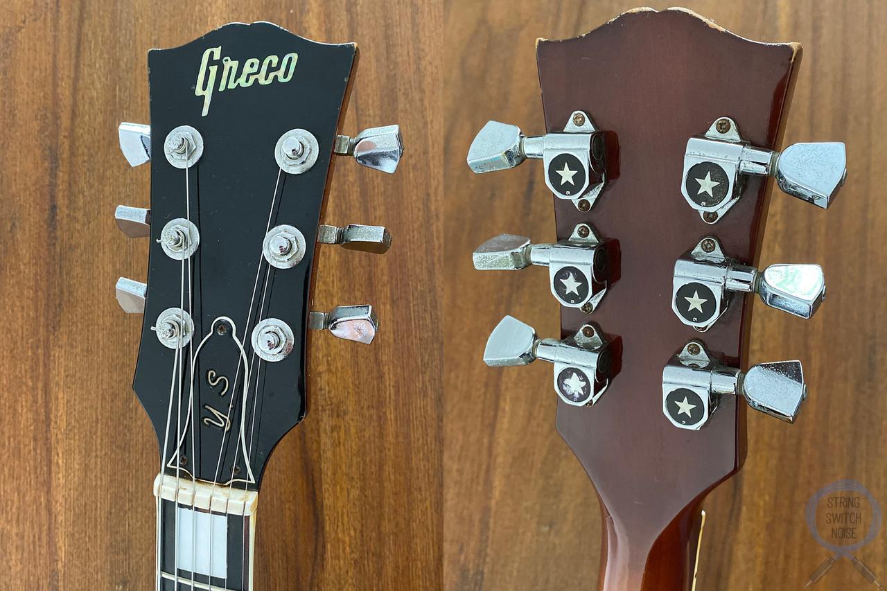 "Greco ""339"", Vintage 1973, Full Hollow Body, Honey Burst, Hard Case"