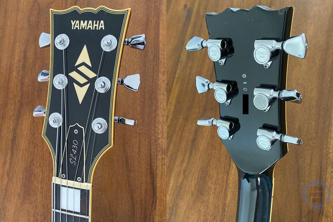 Yamaha Les Paul, Studio Lord, Ebony, MIJ 1979, (010xxx)