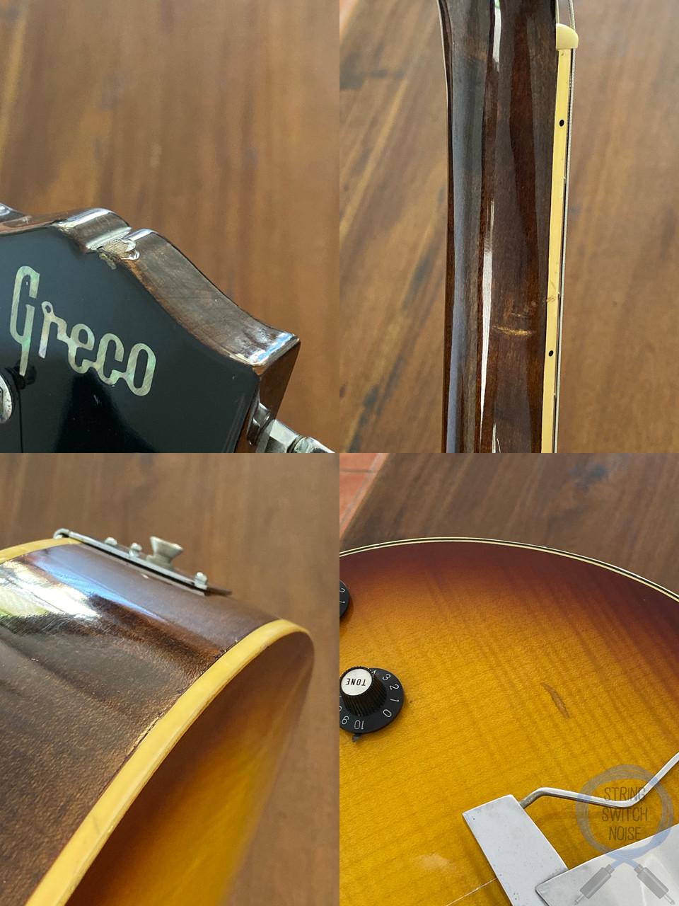 Greco ES175, Full Hollow Body, Sunburst, 1975 Vintage, OHSC