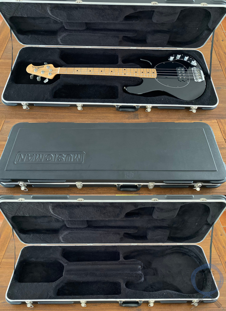Ernie Ball Music Man, Sting Ray Bass, Black, 2005, OHSC