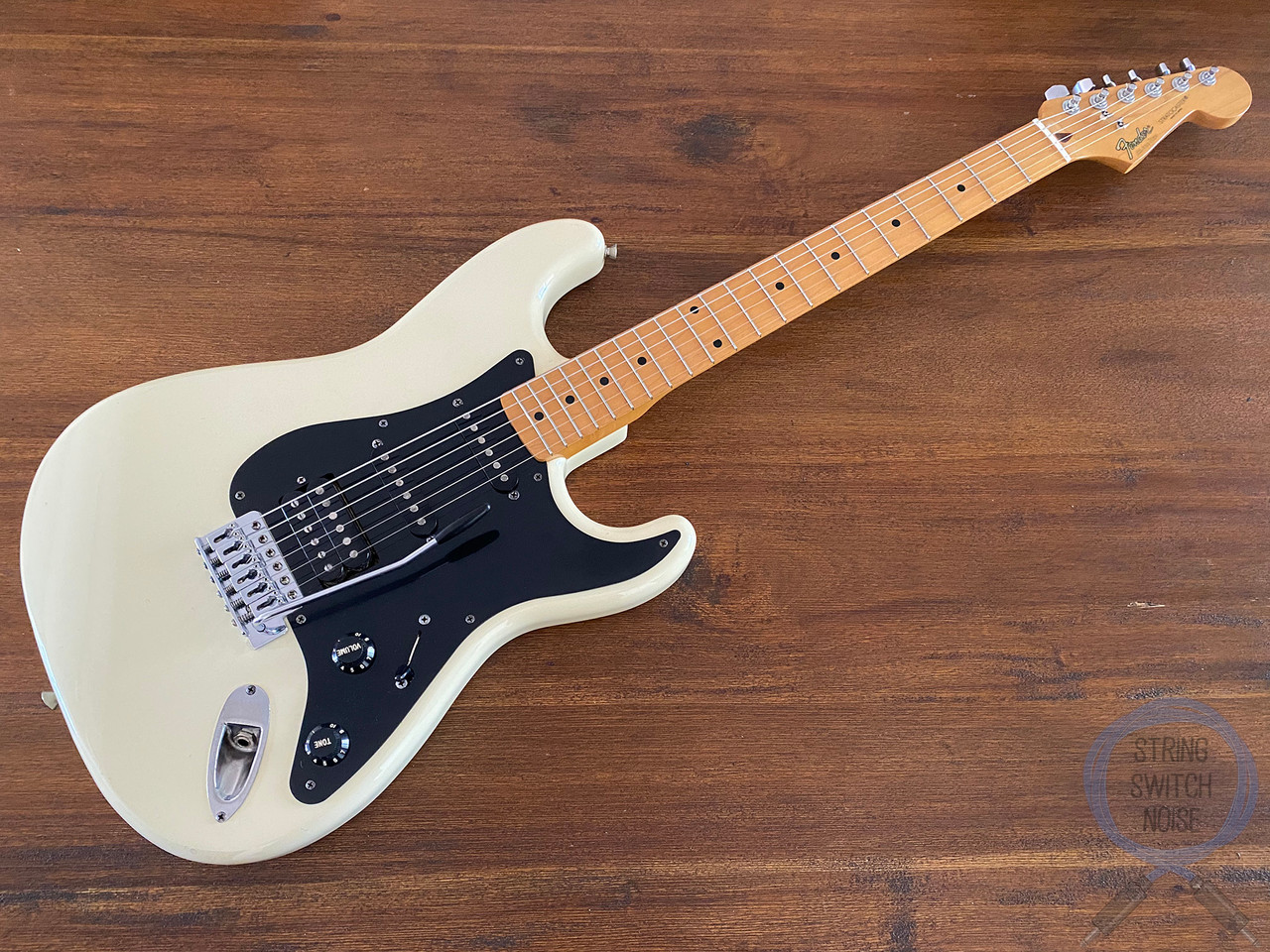 Fender Stratocaster, BOXER, White, HSS, 1984, Excellent Condition