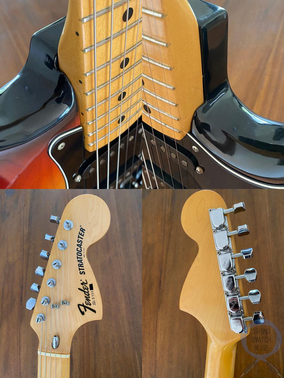 Fender Stratocaster, Sunburst, USA, 1977, OHSC, NEAR MINT