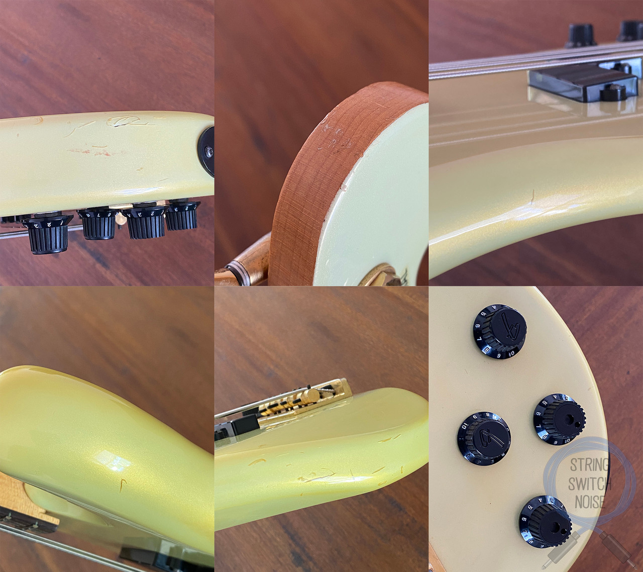 Fender Jazz Bass, Special, Active, P/J, Gold, 1984, Medium Scale, Rare Find