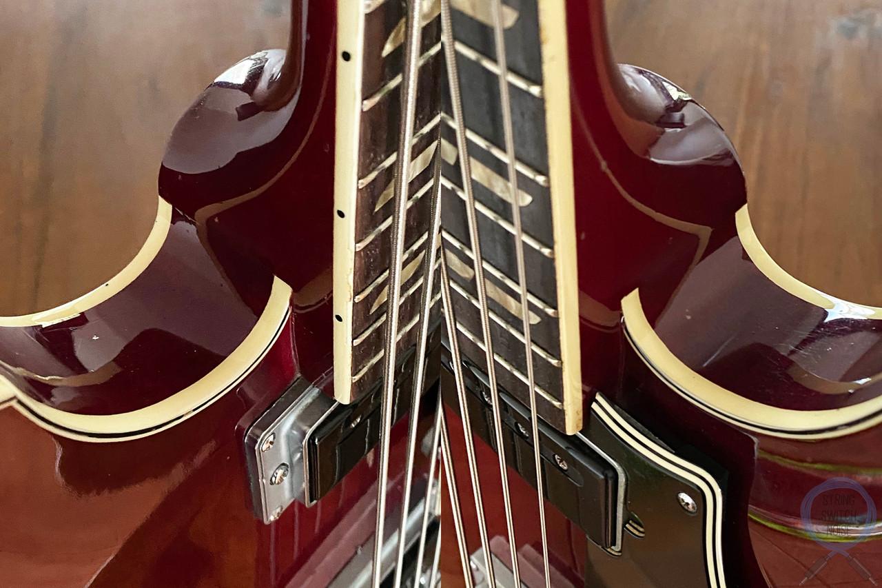 Yamaha SA-70, Full Hollow Body Bass, Cherry, VINTAGE 1971