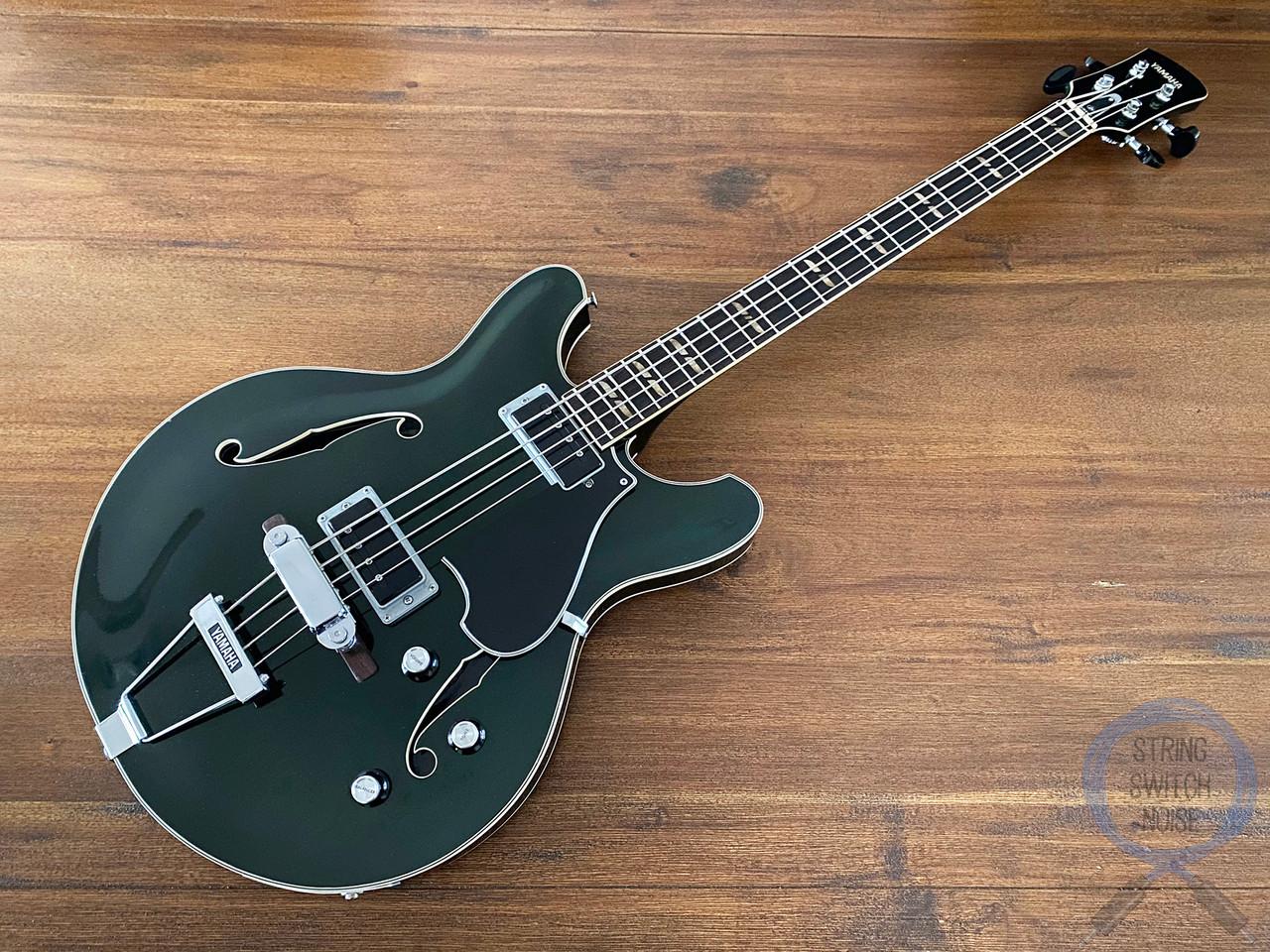 Yamaha SA-70, Full Hollow Body Bass, Forest Green, VINTAGE 1970