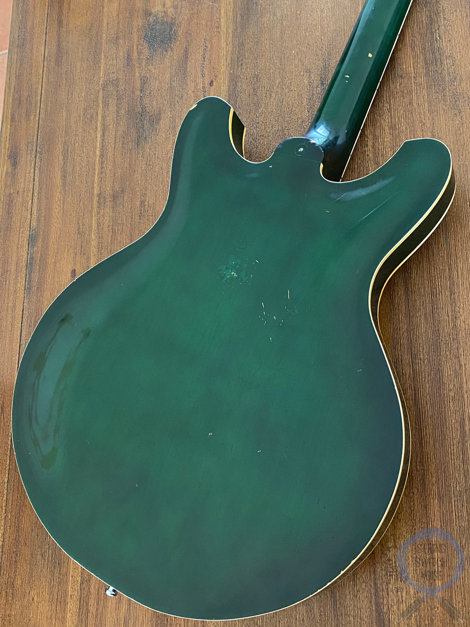 Yamaha, Vintage Hollow Body, Tremolo, 1973, Transparent Green, SA30T