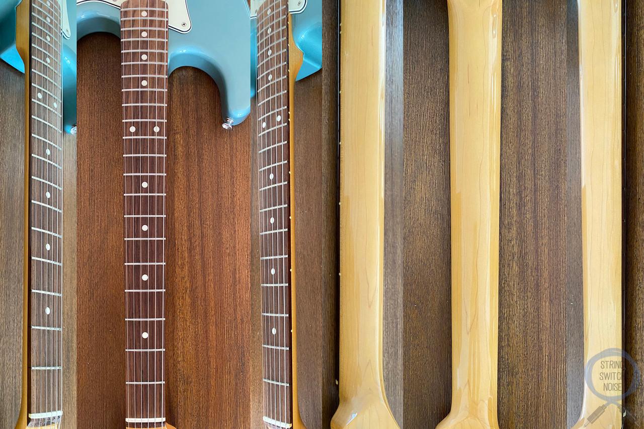 Fender Stratocaster, '62, Ocean Turquoise, 2016, Custom Pickups, Wiring Upgrade