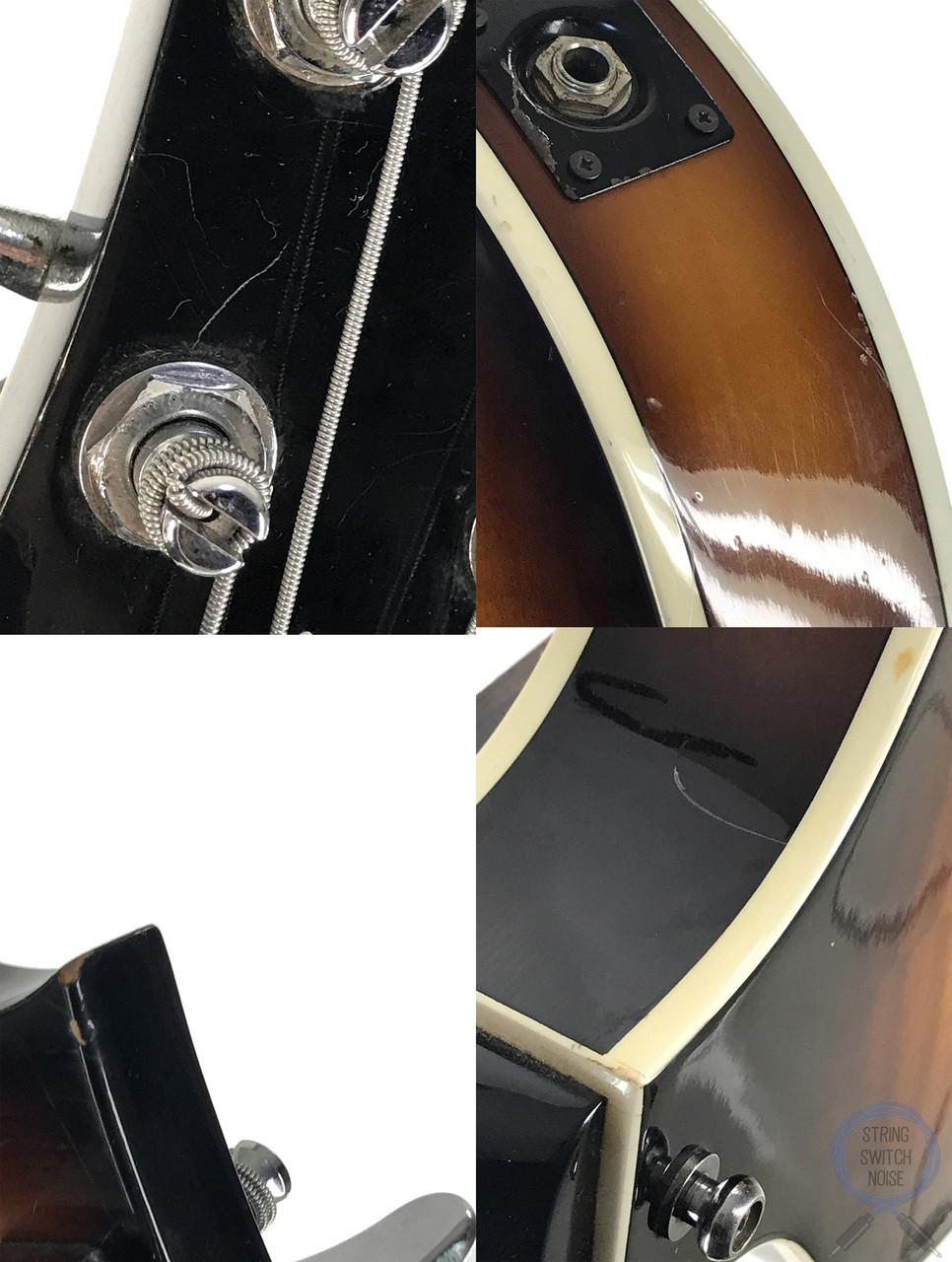 Greco Violin Bass, Sunburst, Made In Japan ,1990
