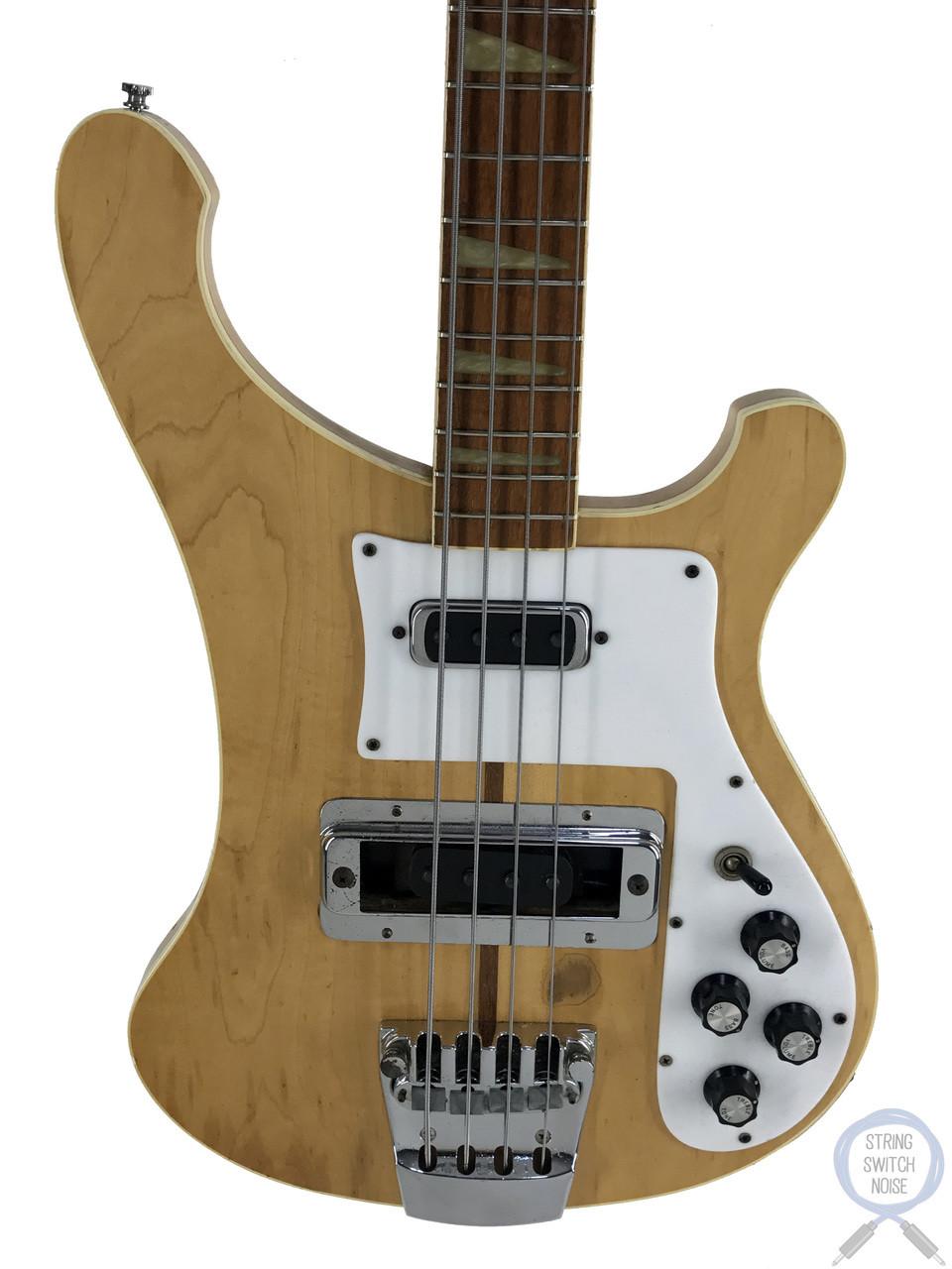 Rickenbacker 4001 Bass, USA 1978 Vintage, Mapleglo, Original Hard Case