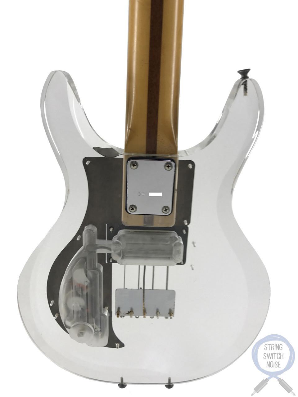 Greco, (Ampeg/Dan Armstrong) Bass, APB1000, Lucite/Plexi Body, 1990