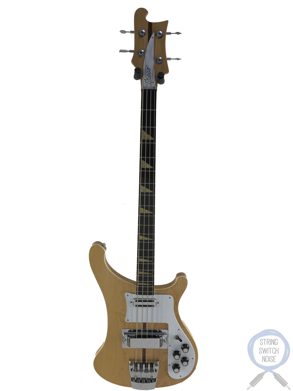 Greco (RB800) 4001 Bass, Natural, 1973 Vintage, Hard Case