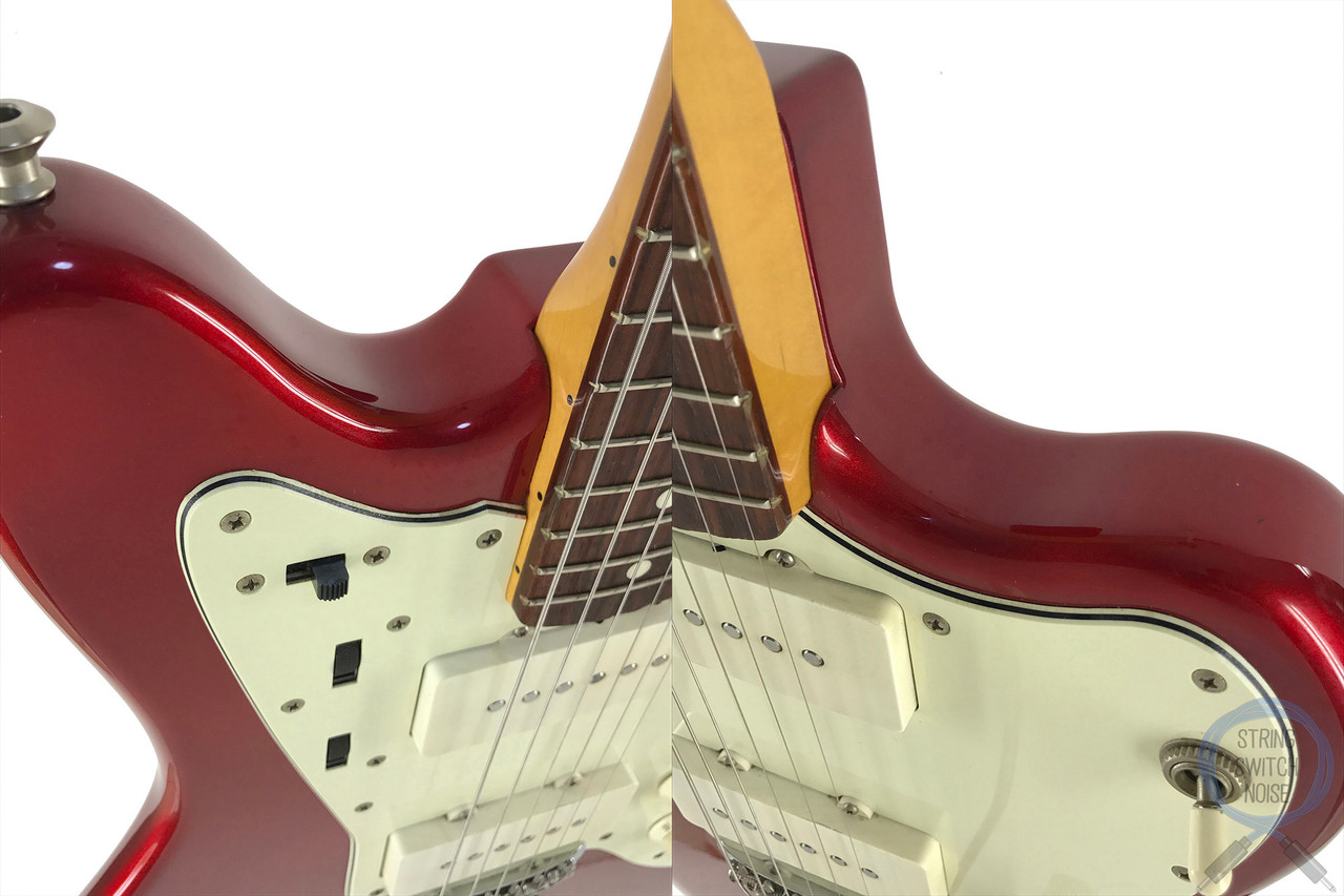 Fender Jazzmaster, '66, Candy Apple Red, Matching Headstock, 1999