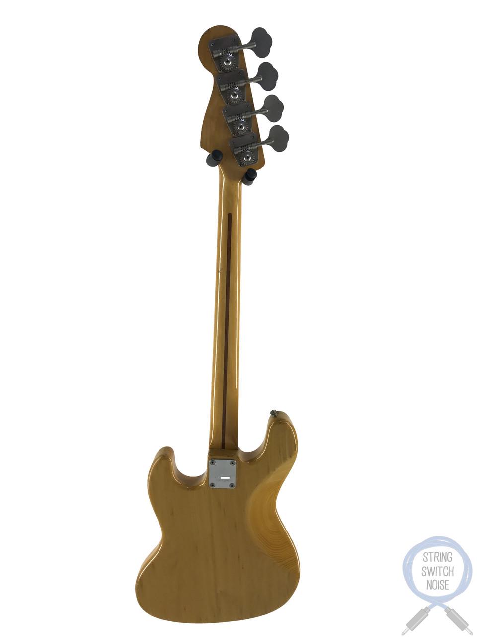 Greco Jazz Bass, JB600, Natural Ash, 1976 vintage, MIJ