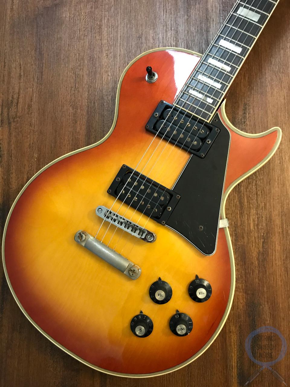 Greco Les Paul, Custom, Cherry Sunburst, 1974 Vintage, OHSC