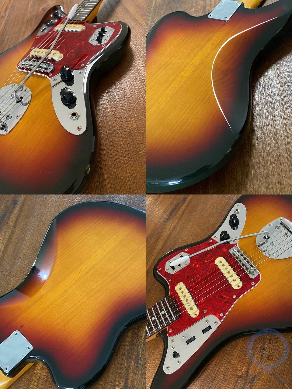 Fender Jaguar, '66, 3 Tone Sunburst, 1993, Alder Body