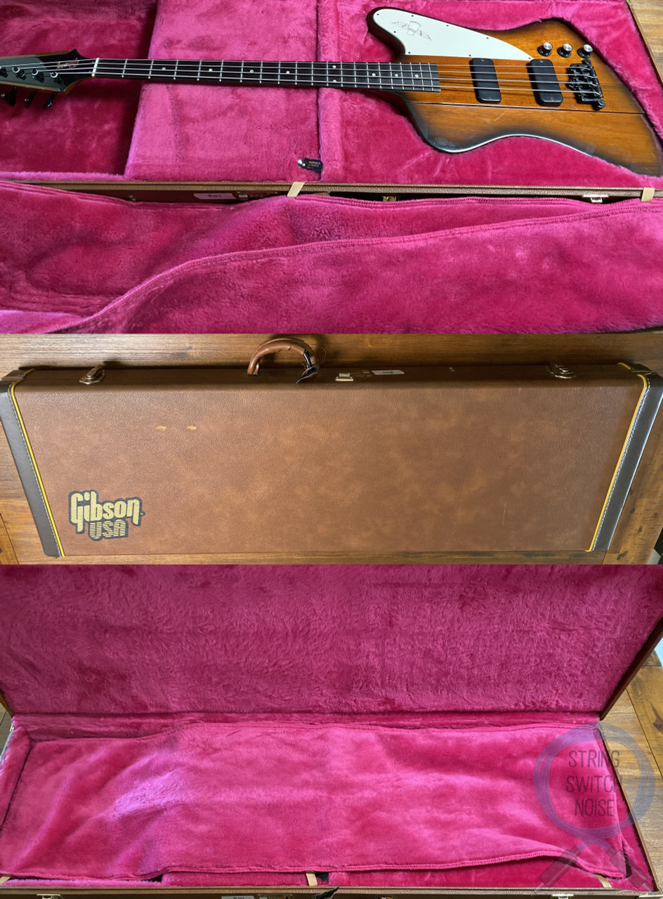 Gibson Thunderbird IV Bass, Vintage Sunburst, 1991, USA, OHSC