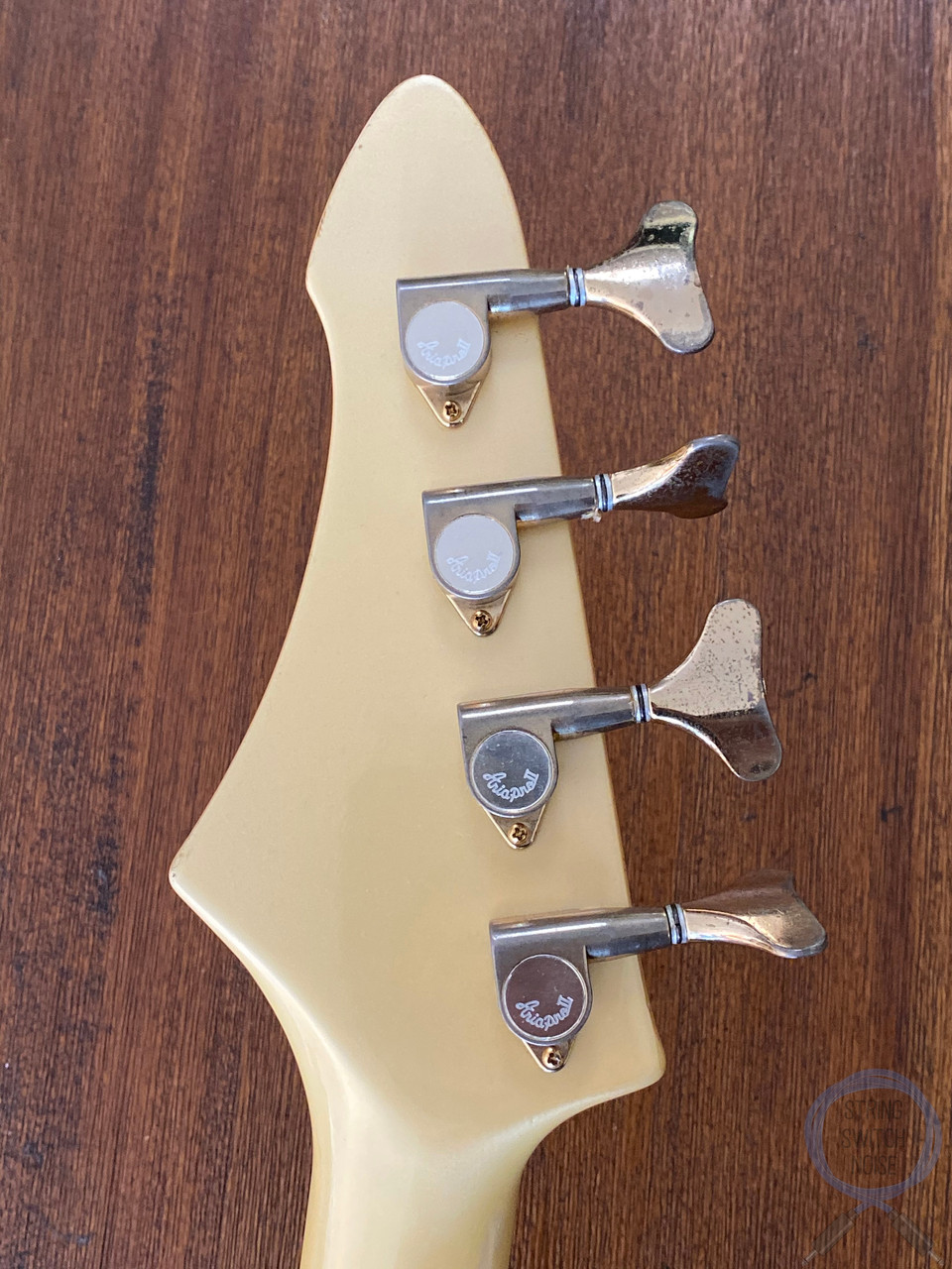 Aria Pro II Bass, RSB DELUXE, Pearl White MIJ, 1983