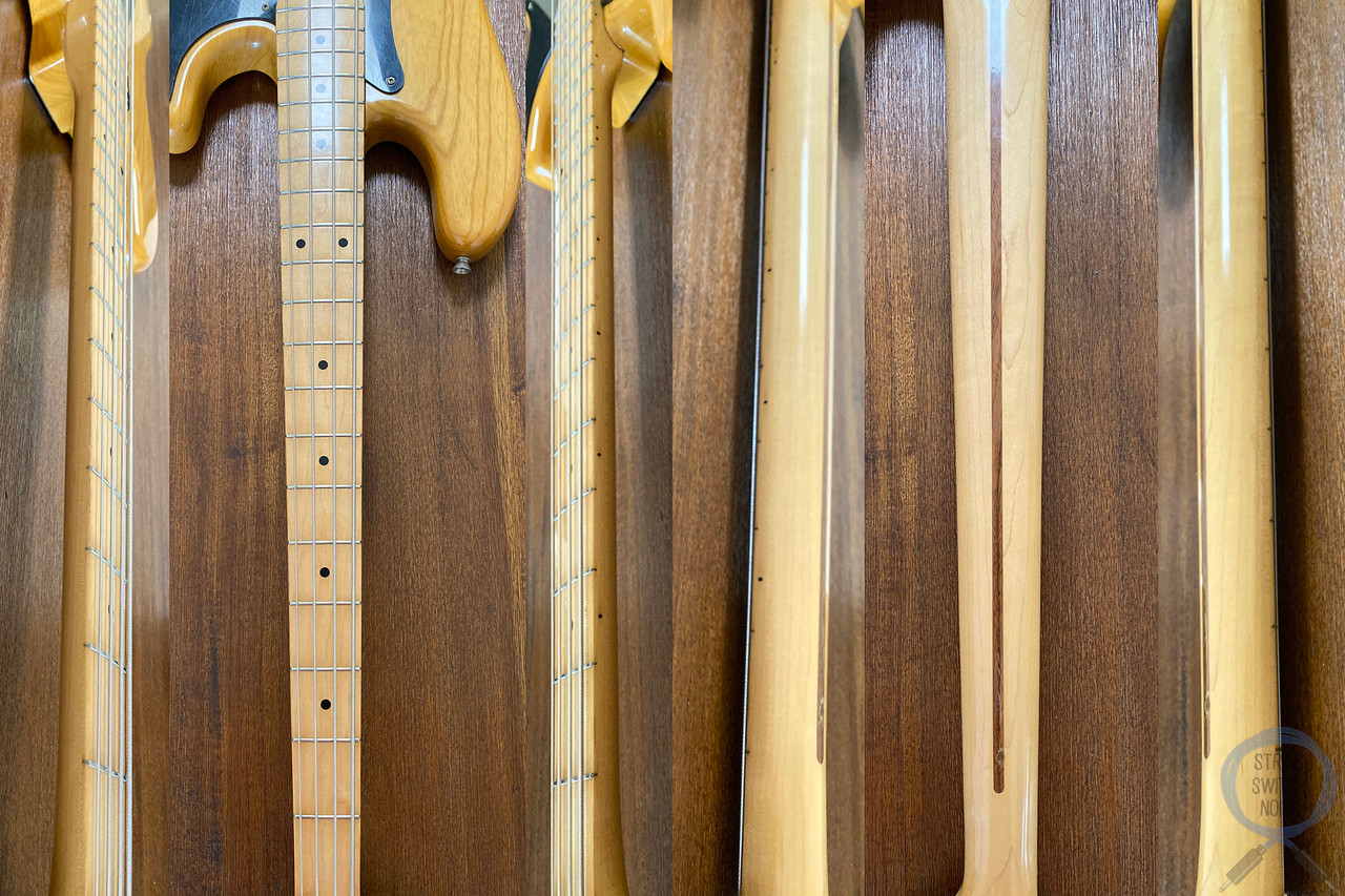 Fender Precision Bass, '70, Natural Ashwood, 1989 Vintage