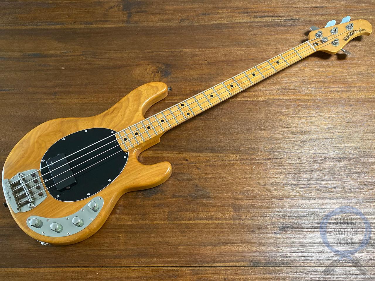 Ernie Ball, Music Man, Sting Ray Bass,1989, PASSIVE, Natural, OHSC