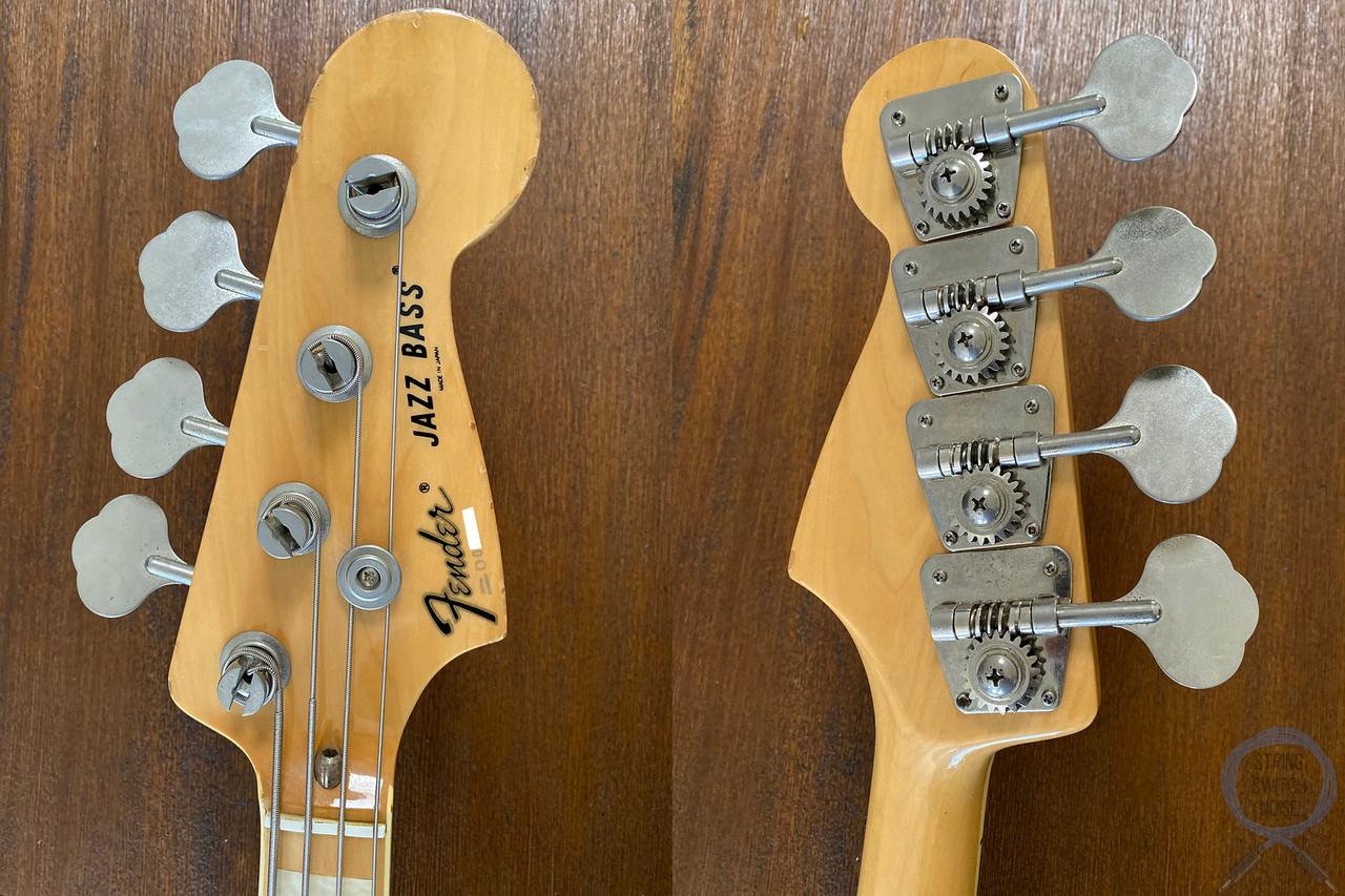 Fender Jazz Bass, '75, Natural Ashwood, 1997, USA pickups