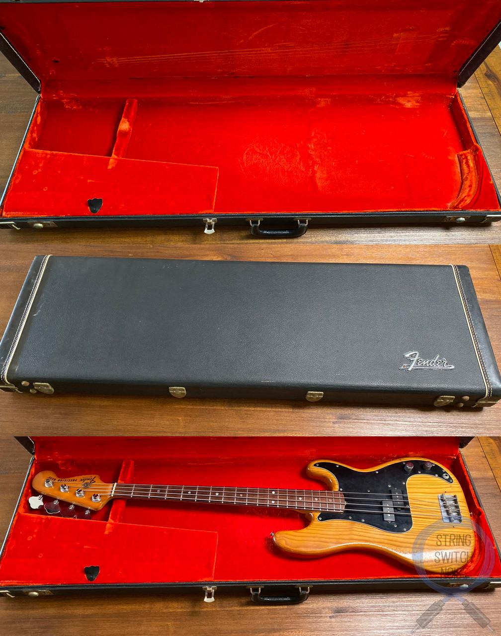 Fender Precision Bass, Ashwood, USA, Hard Case, 1977 VINTAGE