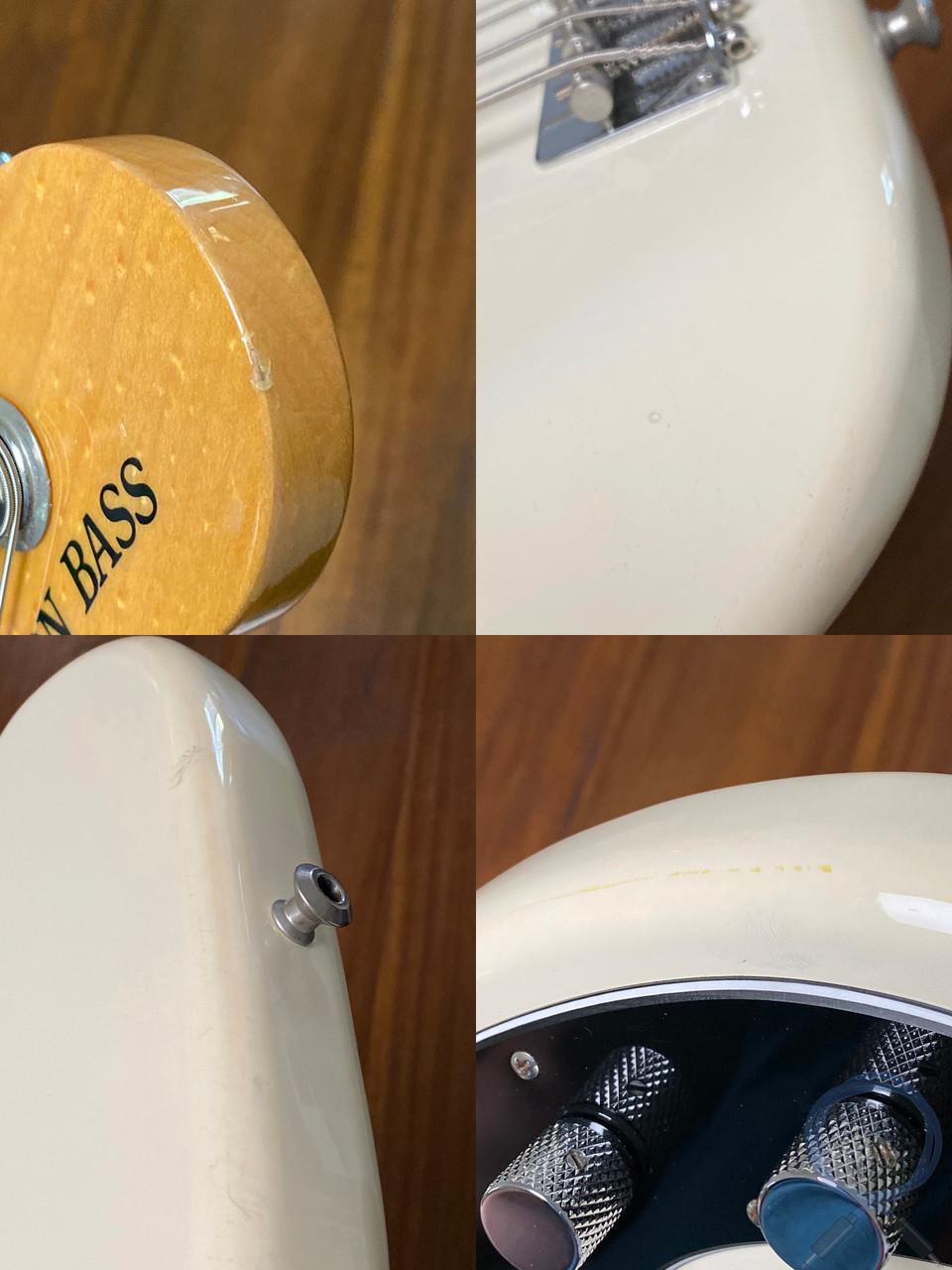Fender Precision Bass, '70, Olympic White, 2008, USA PUP, Bird Eye Maple