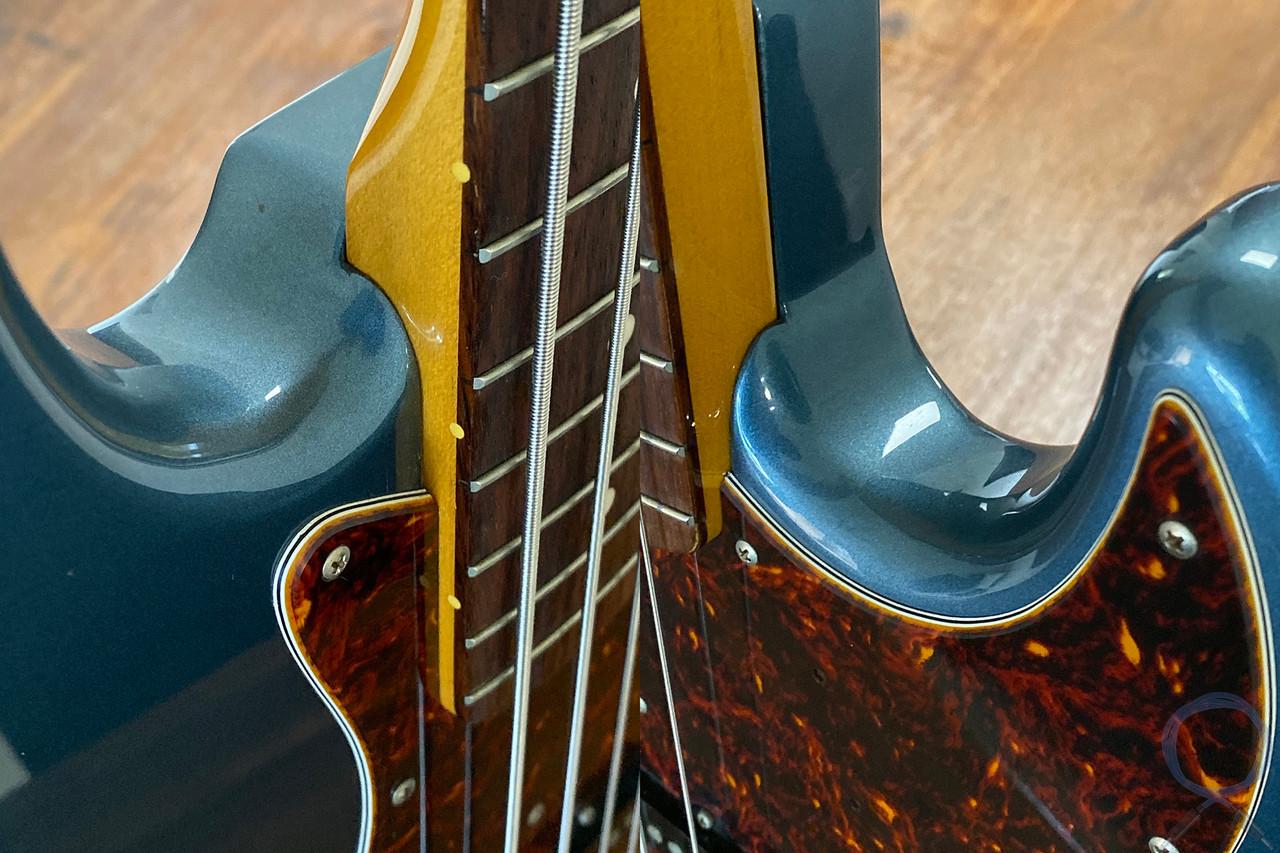 Fender Jazz Bass, '62, Old Lake Placid Blue, 1999