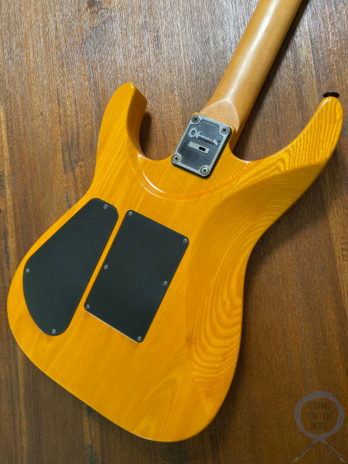 Charvel Stratocaster, HSH, Natural Ashwood, 1993