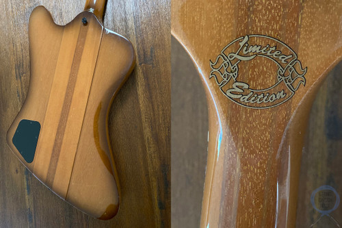 Gibson Thunderbird Bass IV, LIMITED EDITION, Natural Bust, 1999, OHSC