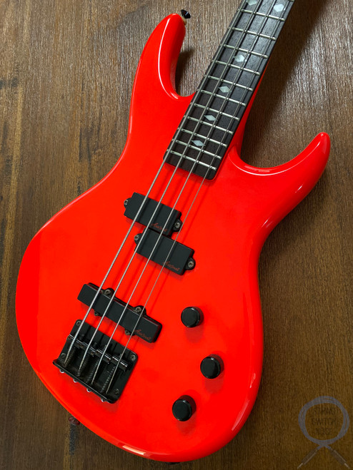Aria Pro II, Bass, Red, Short Scale, Vanguard series, 1990s