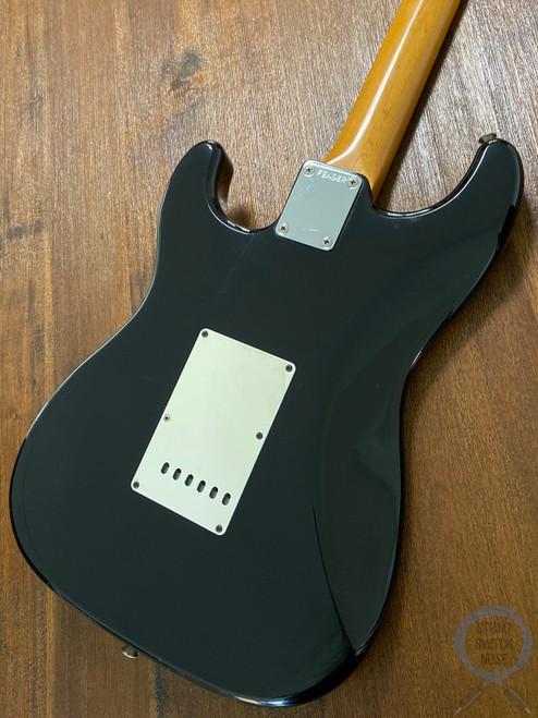 """Fender Stratocaster, '62, Black (Classic """"Tuxedo"""") 1990"""