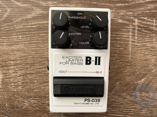 Guyatone PS-038, Exciter Limiter Bass, B-IV, MIJ, 1980's, Vintage Guitar Effect Pedal