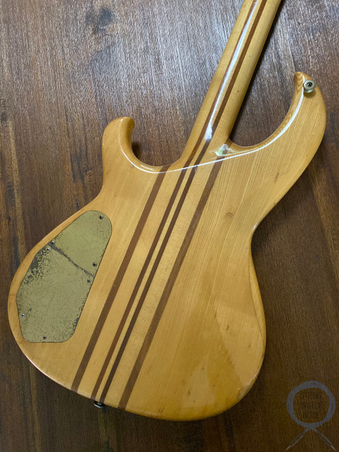 Aria Pro II, SB-900 Bass, Natural, 1981, Hard Case, 39 year vintage