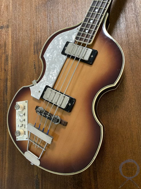 Greco Violin Bass, LEFT HAND, Sunburst, 1982, Paul McCartney, OHSC