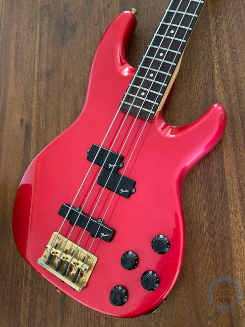 Fender Jazz Bass, Special, Active, P/J Pickups, Candy Red, 1984